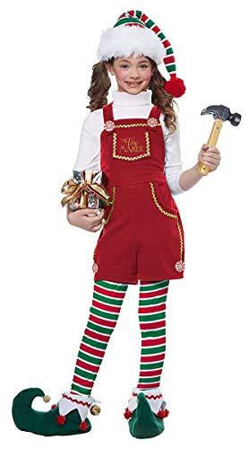 California Costumes Girls Toymaker Elf, Girl Child Costume