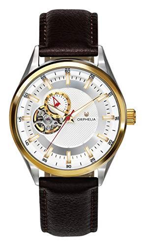 ORPHELIA Herren Analog Automatik Uhr mit Leder Armband OR91801