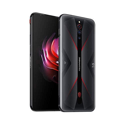 Nubia RedMagic 5G Gaming Phone 8GB RAM + 128GB ROM/Smartphones with Qualcomm Snapdragon 865/144Hz: Refresh Rate 6.65″ AMOLED Display/64MP Triple Camera NFC(Black