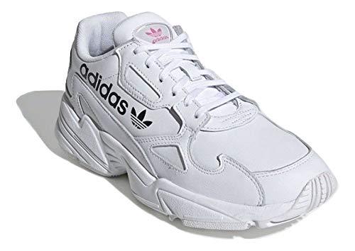 adidas Mujer Falcon W Zapatillas Blanco, 38 2/3