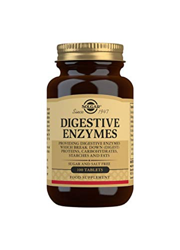 Solgar Digestive Enzymes Tablets, Pack of 100