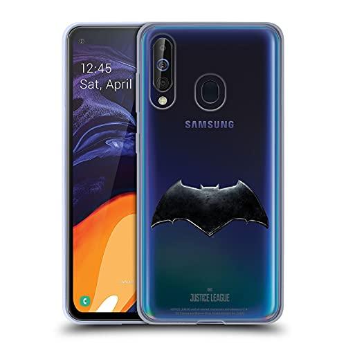 Head Case Designs sous Licence Officielle Justice League Movie Batman Logos Coque en Gel Doux Compatible avec Samsung Galaxy A60 / M40 2019