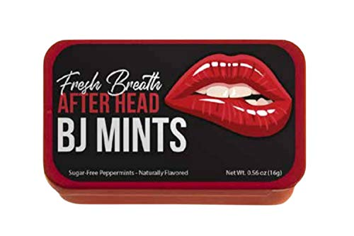 Blow Job Mints - Sugar - Free Naughty Gifts For Him or Her - Funny Sexy Gag Gift For Birthday Or Valentine's Day - Blowjob Gift