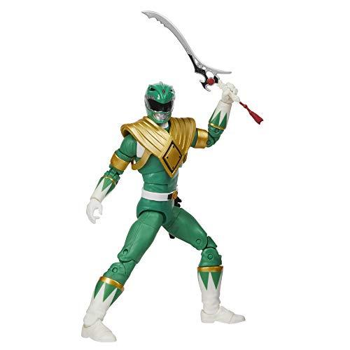 Power Rangers Lightning Collection Mighty Morphin Grüner Ranger 15 cm große Premium Action-Figur zum Sammeln mit Accessoires