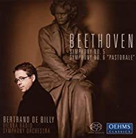 ベートーヴェン:交響曲第5番「運命」, 第6番(ウィーン放送響/ド・ビリー)