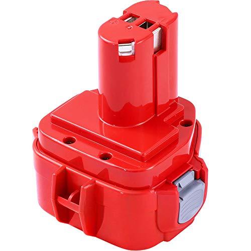 Dosctt 12V 3000mAh Ni-MH Batería de Reemplazo Para Makita PA12 1220 1222 192598-2 192681-5 193981-6 638347-8 638347-8-2