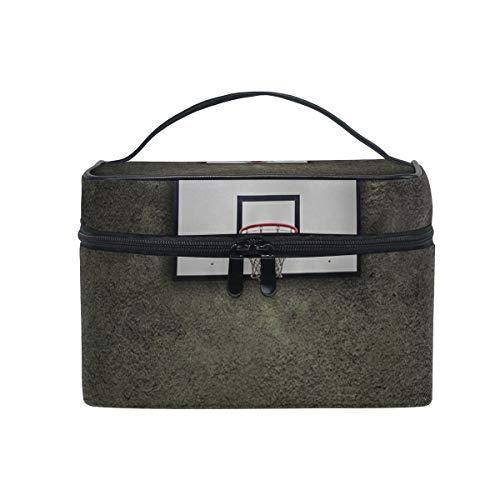 Stockage portatif de vannerie de sport de sac de boule de maquillage de maquillage avec la tirette