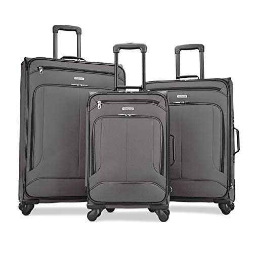 American Tourister Pop Max 3PC Set (SP21/25/29) (Charcoal)