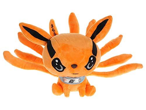 CoolChange Naruto Chibi Plüschtier von Bijuu Kurama, Orange, 22cm