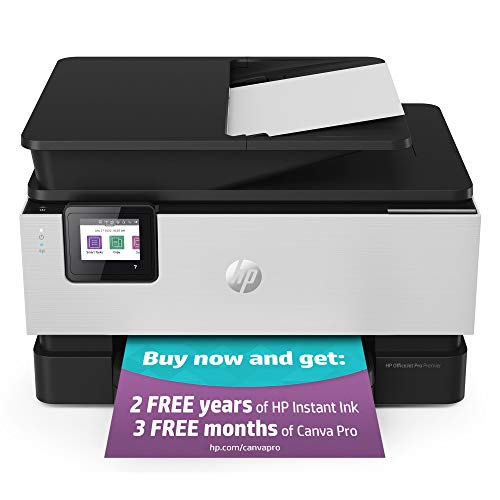 HP OfficeJet Pro Premier All-in-1 Wireless Printer - includes 2 Years of Ink Delivered, Plus Smart Tasks for Smart Office Productivity, Works with Alexa (1KR54A)