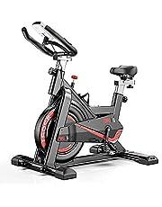 ARUNDO-hometrainer,spinningfiets voor binnenfietsen met instelbare weerstand,stationaire fietsen voor cardiotraining thuis,verstelbaar stuur en zadel,LCD-monitor