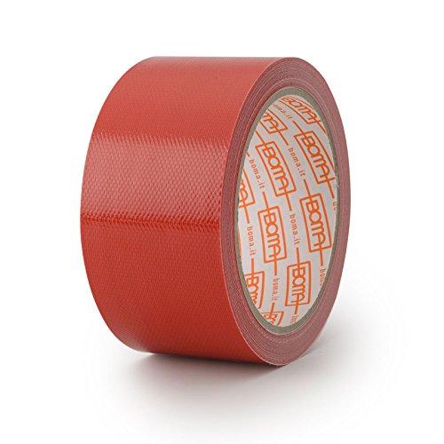 Boma B47008200013 Nastro telato per riparazioni, 50mm x 5m, colore: Rosso