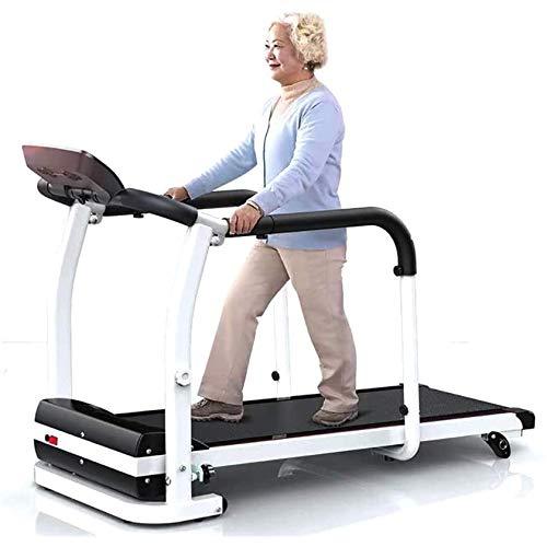 Peakfeng Cinta de Correr Cinta LCD Detección de Ritmo cardíaco con cinturón Auxiliar de la cinturón de la cinturón extendido No se Requiere instalación Adecuado Edad Media Menores