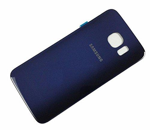 Ilovemyphone Tapa Bateria para Samsung Galaxy S6 Edge G925F Azul Oscuro Back Cover Trasera