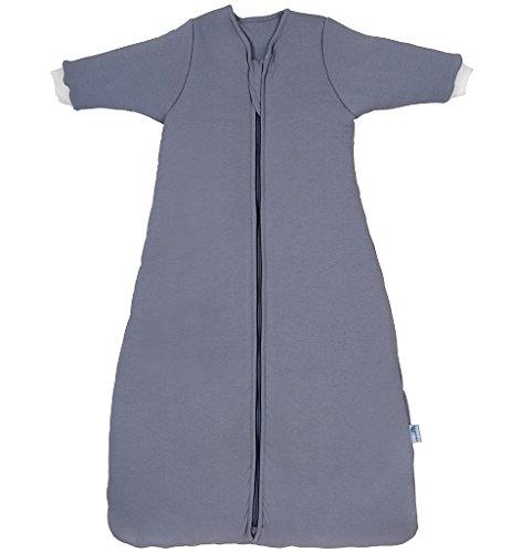 Schlummersack Kinderschlafsack für den Winter mit langen Ärmeln 3.5 Tog - Anthrazit - 6-10 Jahre / 150 cm