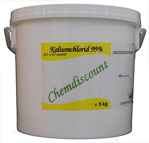 Preisvergleich Produktbild 5kg Kaliumchlorid 99%,  techn. Qualität,  versandkostenfrei