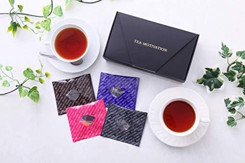 【ギフト包装済】紅茶ギフト Kセット/アールグレイ/ももりんご ティーバッグ11包×2箱計22包 最高級品質 TEA MOTIVATION