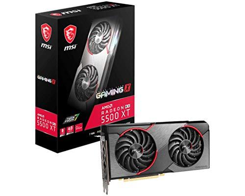MSI Radeon RX 5500 XT Gaming X 8G - Tarjeta gráfica Enthusiast
