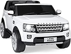Best Choice Products 12V 3.7 MPH 2-Seater Licensed Land Rover Ride On Car Toy w/ Parent Remote Control, MP3 Player - White