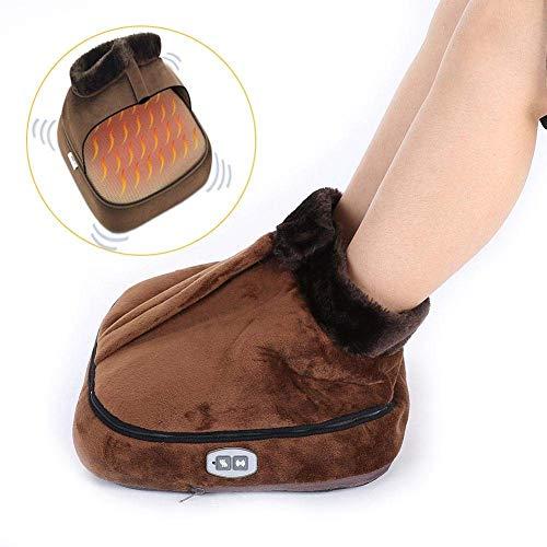 Masajeador eléctrico de pies, ajustes de temperatura ajustables 8 Calentador de pies con masaje Shiatsu para pies, relajación y alivio de la fatiga(# 2)