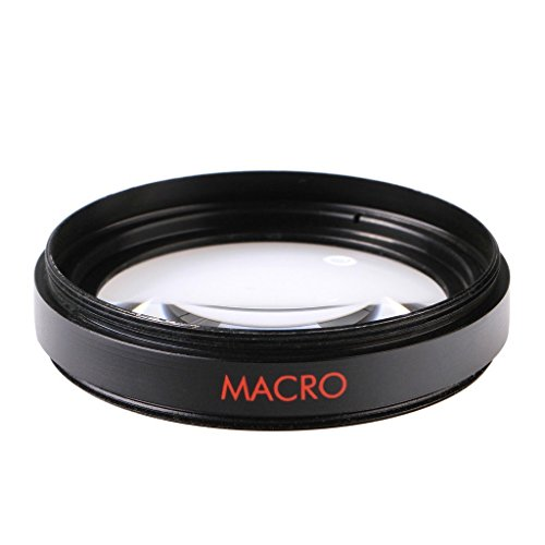 58mm Wide Angle Lens Kit for Canon VIXIA HF S10 S100, Canon VIXIA HF S20, HF S200, HF S21, HF S30 Camcorders Includes: 0.43x Wide Angle (with Macro) High Definition Lens, Bonus Lens Cap Keeper