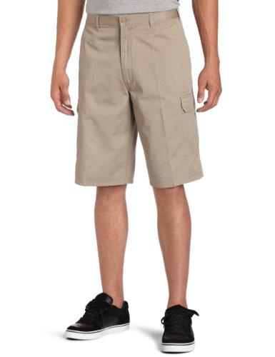 Dickies Mens 13 Inch Loose Fit Cargo Short, Khaki, 34