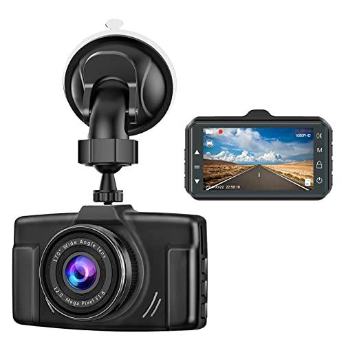 Dash Cam for Cars 1080P FHD 2021 Car Dash Camera for Cars CHORTAU 3 inch Dashcam with Night...