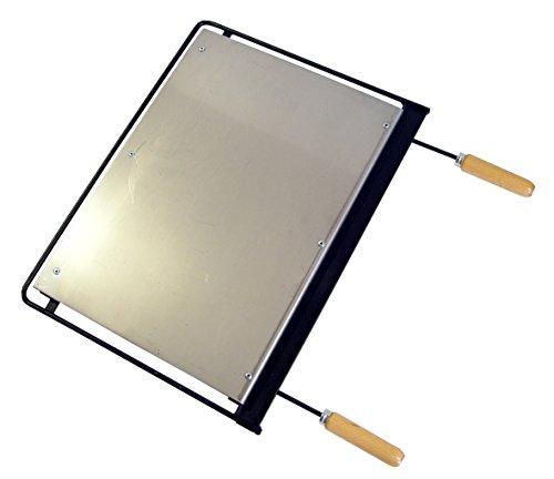 Imex El Zorro 71622 - Plancha para barbacoa, hierro, Gris, 71 x 41 cm