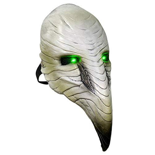 Aional Halloween peste pico máscara Punk vapor europeo negro de la muerte...