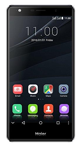 Haier V6 Smartphone, LTE, Display 5,5'' FullHD, Processore Octa-Core, 32GB Memoria Interna, 3GB RAM, Fotocamera 13 MP, Double-SIM, Android 6.0 Marshmallow, Colore Argento