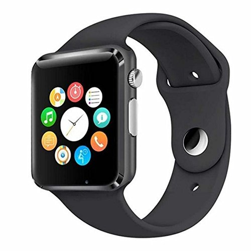 49183910758 SONTIGA Apple iPhone X Compatible Bluetooth Smart Watch   Wrist Watch with  SIM Card Support