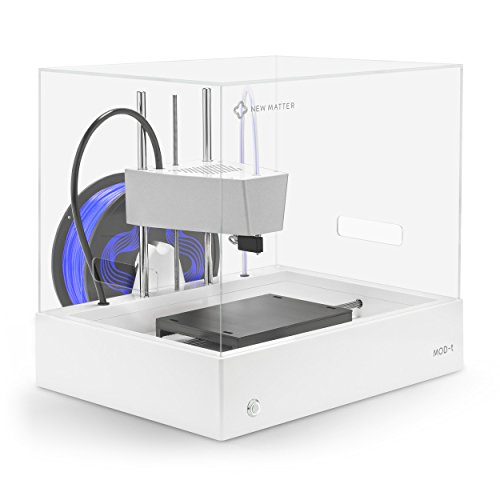 New Matter MOD-t Desktop 3D Printer | Built-In WiFi, Easy to Use, Safe and Quiet