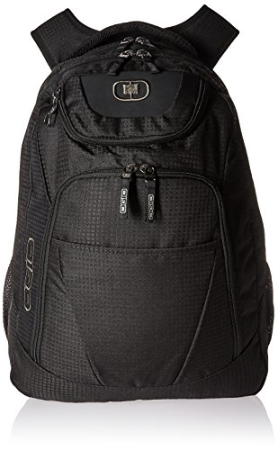 OGIO Logo- Ready Tribune Backpack with Laptop/Tablet Compartment and 43-Litre Storage Capacity, Black GT, 50 cm, Corporate Collection