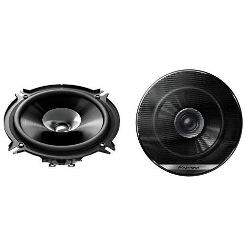 Pioneer TS-G1310F Doppelmembranlautsprecher für Autos (230 W), 13 cm, kraftvoller Klang, IMPP-Membran für optimalen Bass, 35 W Eingangsnennleistung, 44.3 mm Einbautiefe, schwarz, 2 Lautsprecher