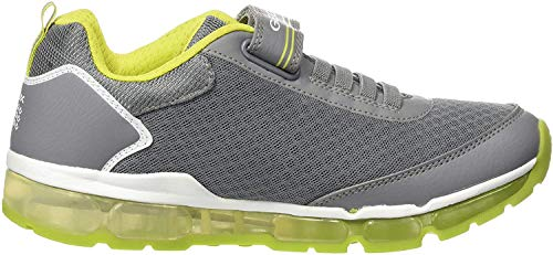 Geox Jungen J Android Low-top A Sneaker, Grau (Grey), 34 EU