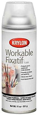 Krylon Workable Fixatif Clear Spray (11 oz)