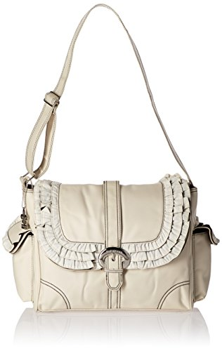 Kalencom Diaper Bag, Miss Prissy Champagne/Chocolate