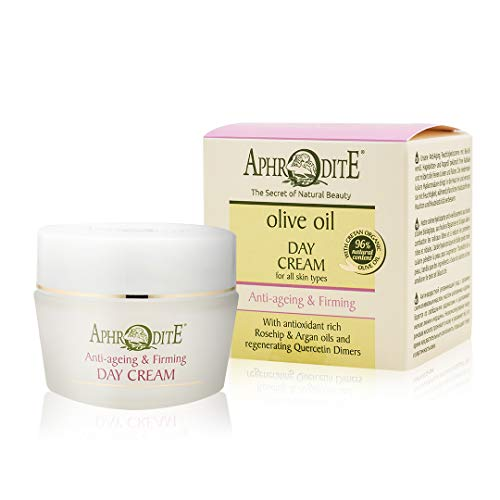 Aphrodite Anti-Aging & Strafende Tagescreme. Tägliche natürliche Feuchtigkeitscreme mit...