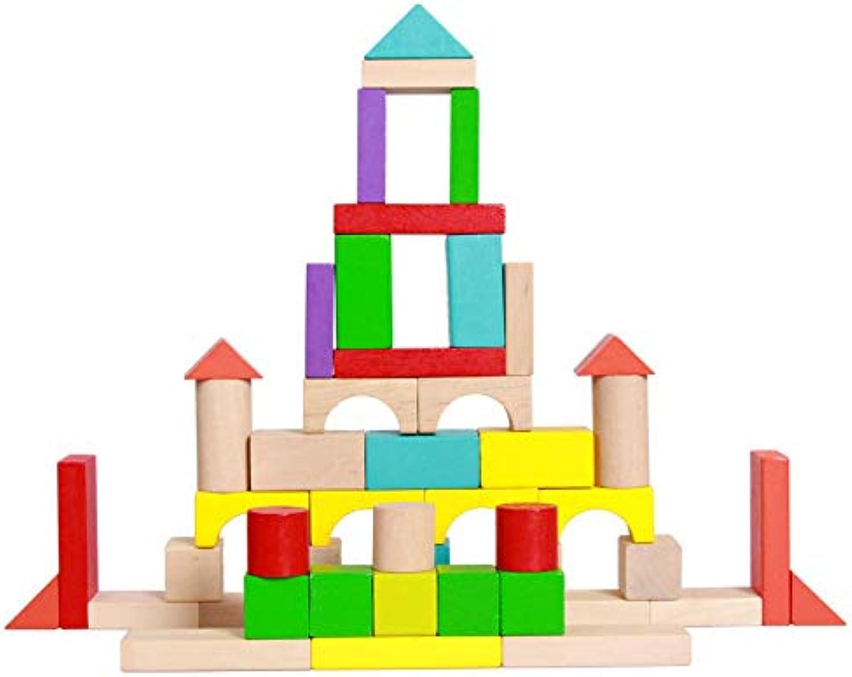 YXXHM- Hlzerne Pdagogische Spielzeuge 150 Farbblcke Montage Interessante Kinder Dekompression Kreativ Abnehmbare