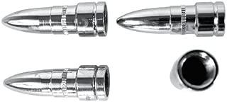 Custom Accessories 16218 Chrome Bullet Style Valve Cap