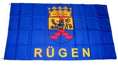 Fahne / Flagge Insel Rügen NEU 90 x 150 cm Flaggen