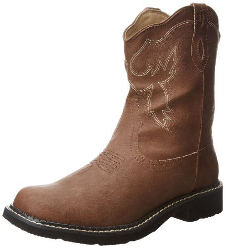 "ROPER 8"" Chunk Boot Brown 8.5 B (M)"