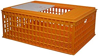 RentACoop Poultry Carrier Crate 8-10 Chickens (Set of 1)