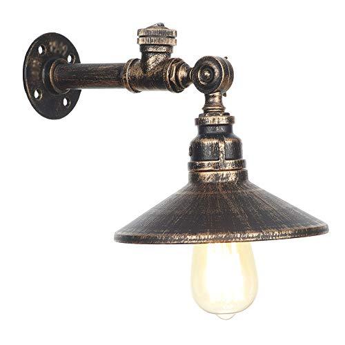 Retro industriële wandlamp vintage bar Ristorante bar kandelaar Sala Studio bedlampje met schakelaar balkon Corridoio Corridoio verlichting apparaten