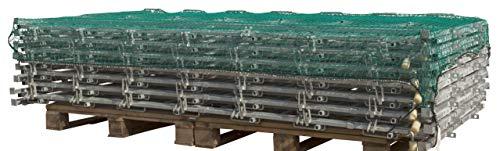 Kerbl Filet Tressé Protection pour Élevage/Agriculture Urbaine 2,5 x 4 m