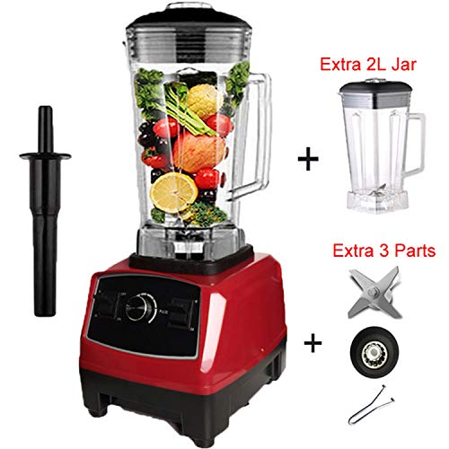 Best Buy! 2200W Heavy Duty Commercial Blender Professional Blender Mixer Food Processor Japan Blade ...