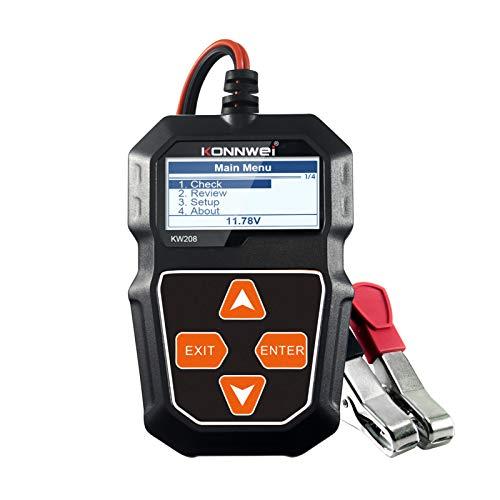 KKmoon Auto Batterietester Kfz 12V universal Autobatterie Tester für Professioneller Kfz Generator Analysator Wellenformspannungstest für Auto Boot Motorrad