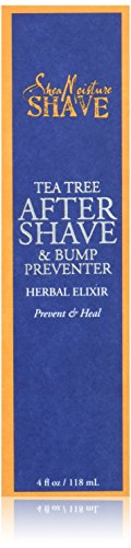 Shea Moisture Tea Tree After Shave & bump preventer herbal elixir 4 fl oz Packaging may vary