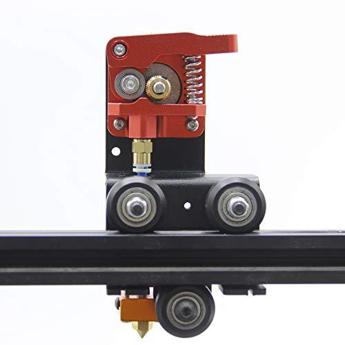 Befenybay - Kit de soporte de extrusora directa para impresora 3D, fácil de imprimir filamento flexible para Creality Ender-3, Ender 3 Pro, CR-10, CR-10S