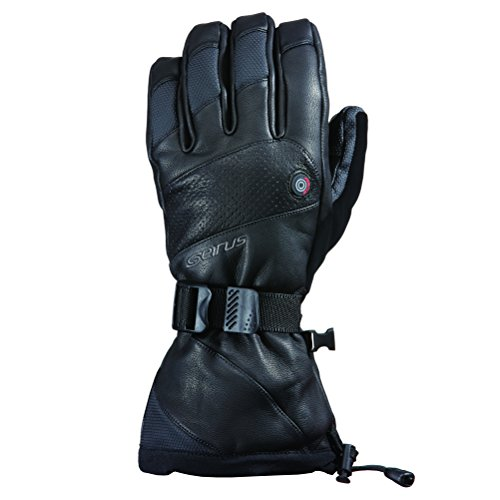 Seirus Innovation Heat Touch Inferno Glove, Black, Large
